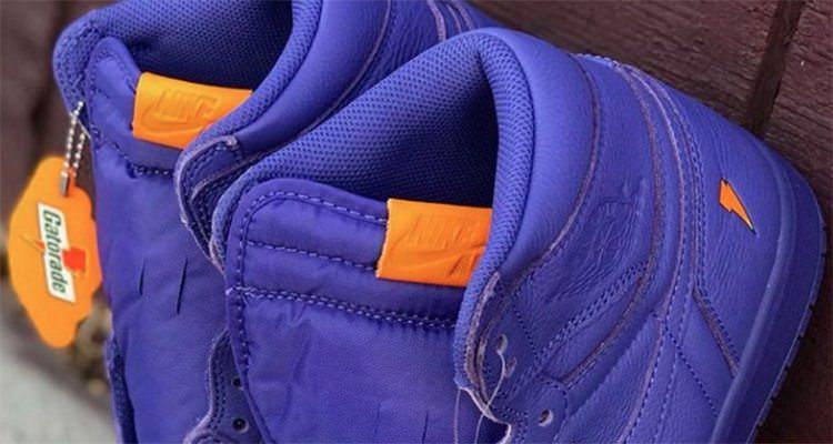 "Air Jordan 1 Gatorade ""Rush Violet"""