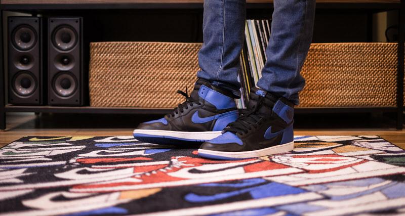 "Air Jordan 1 ""Rainbow Study"" Rug"