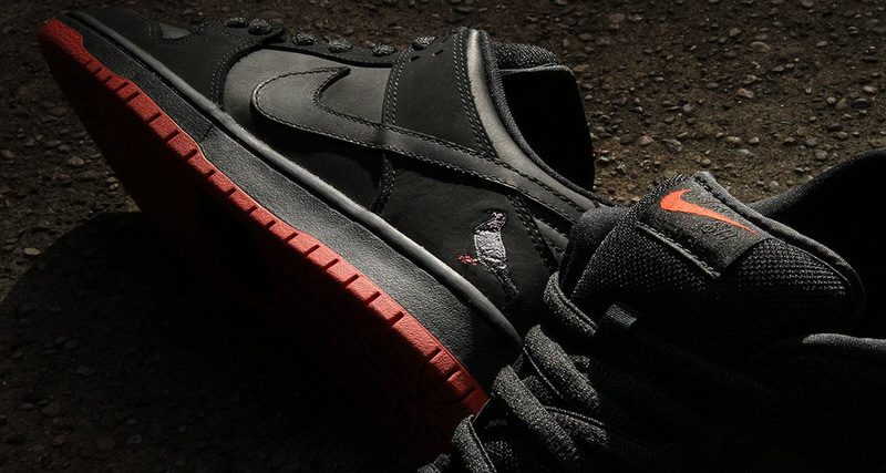 "Nike SB Dunk Low ""Black Pigeon"""
