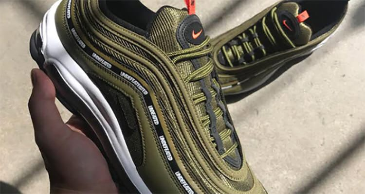 """Undefeated x Nike Air Max 97 """"Olive"""""""