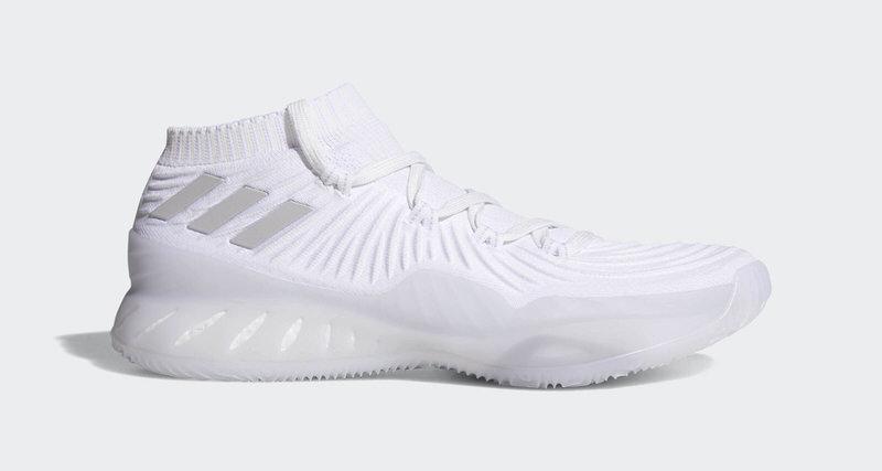 Crazy Explosive Primeknit Shoes Triple White