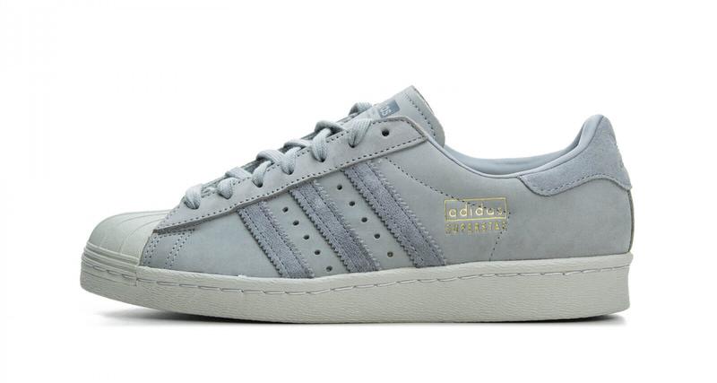 adidas Superstar 80s Grey/Light Grey