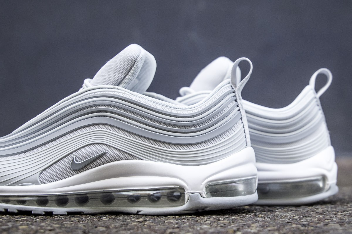 "Nike Air Max 97 Ultra '17 ""Pure Platinum"" is Now Available"