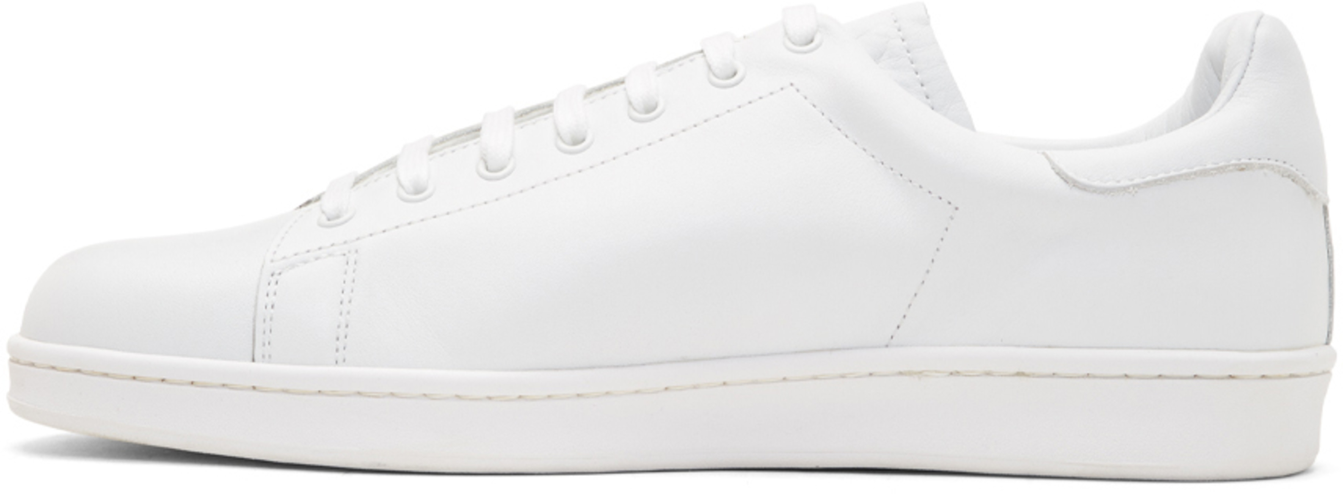 """Undercover White """"Brainwashed Generation"""" Sneakers"""
