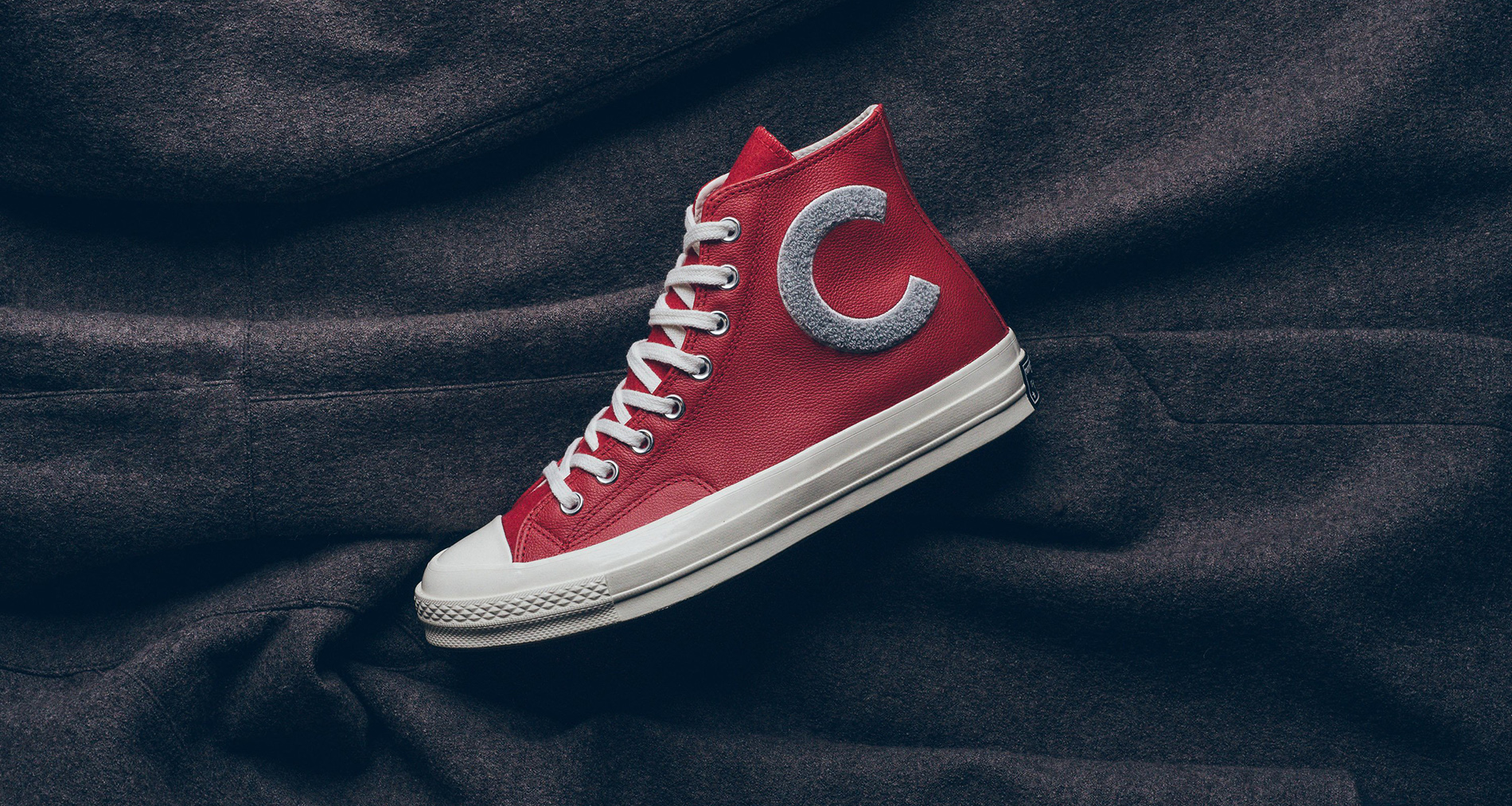 Converse CTAS '70 High Enamel Red/Wolf