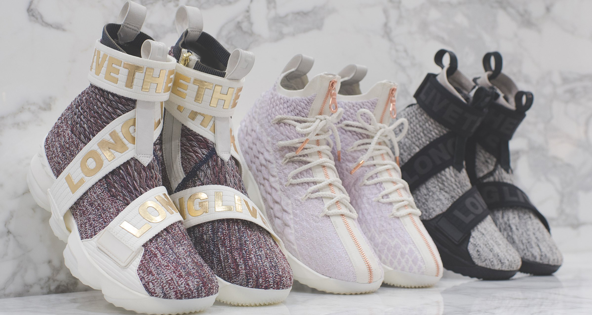 kith x nike lebron 15 quotlong live the kingquot collection