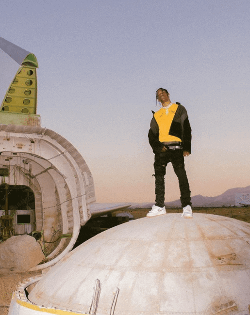 "Travis Scott in the Nike Air Force 1 ""Travis Scott"""
