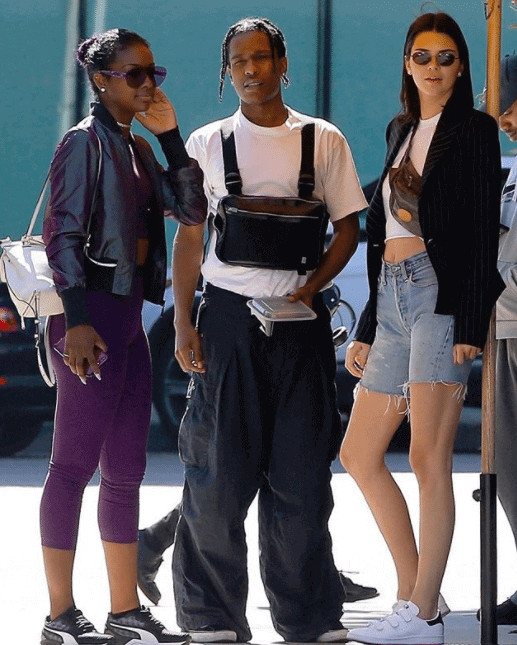 Asap Rocky in the Vans Old School & Kendall Jenner in the adidas Stan Smith