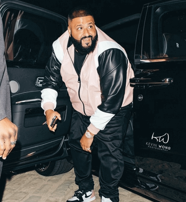 "DJ Khaled in the Air Jordan 1 Retro High OG ""Art Basel"""