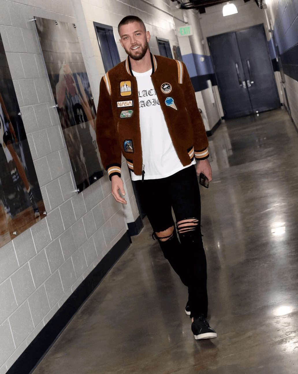 Chandler Parsons in the YSL Sneakers