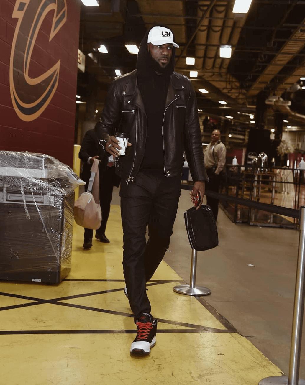 Lebron James in the Nike Lebron 7