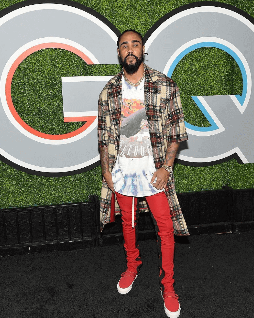 Jerry Lorenzo in the Fear of God x Vans Slip on