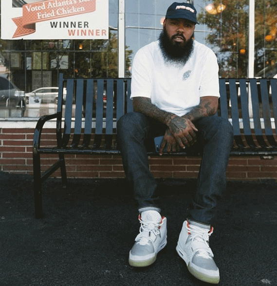 Stalley in the Nike Air Yeezy 2