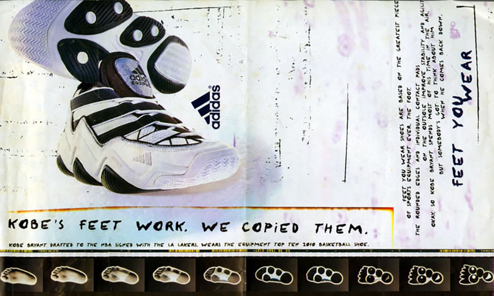 Adidas Feet You Wear Advertisement featuring Adidas Top Ten 2010