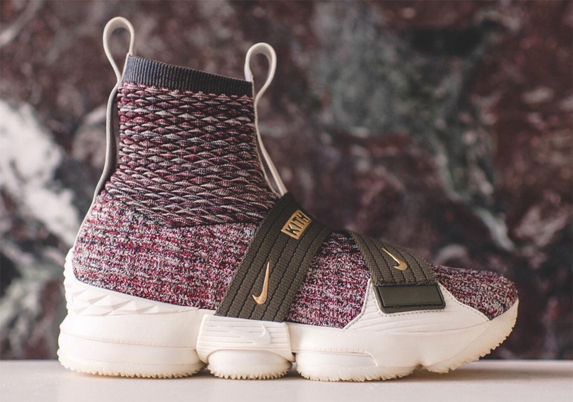 KITH x Nike LeBron 15 Lifestyle Comes