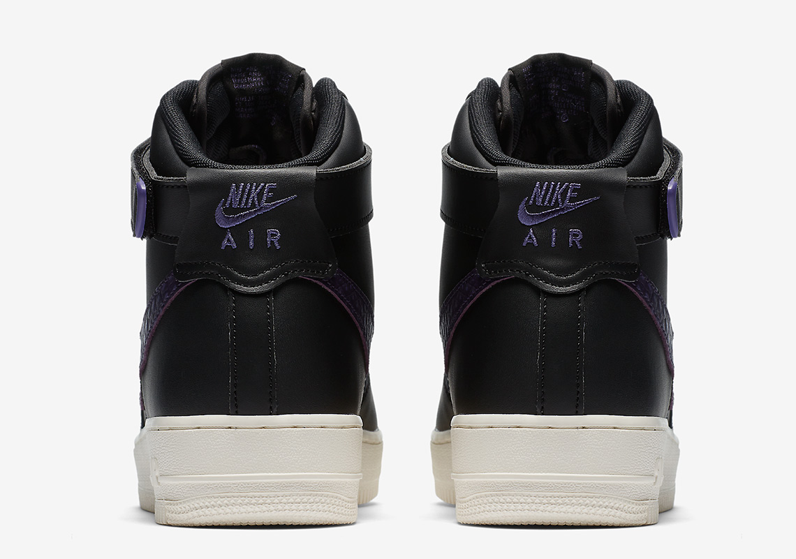 Nike Air Force 1 High Black/Purple