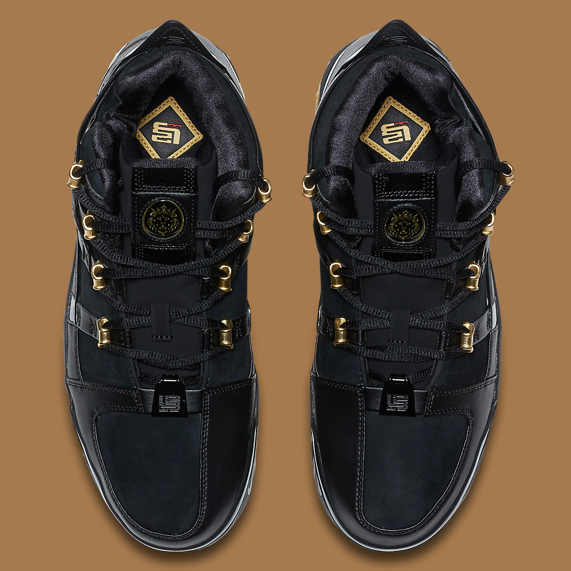 Nike LeBron 3 Black/Gold OG Lands Next