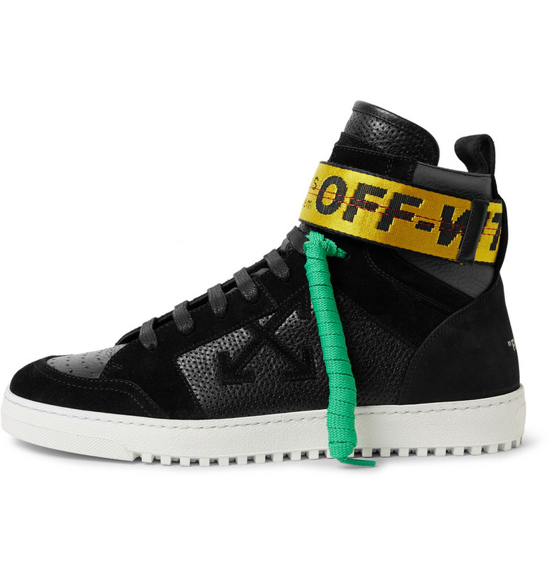 OFF-WHITE High-Top Sneakers \