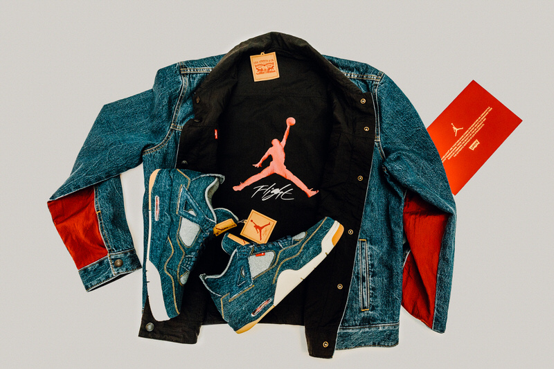 Levi's x Air Jordan 4