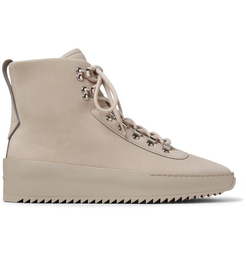 Fear of God Nubuck High-Top Sneakers