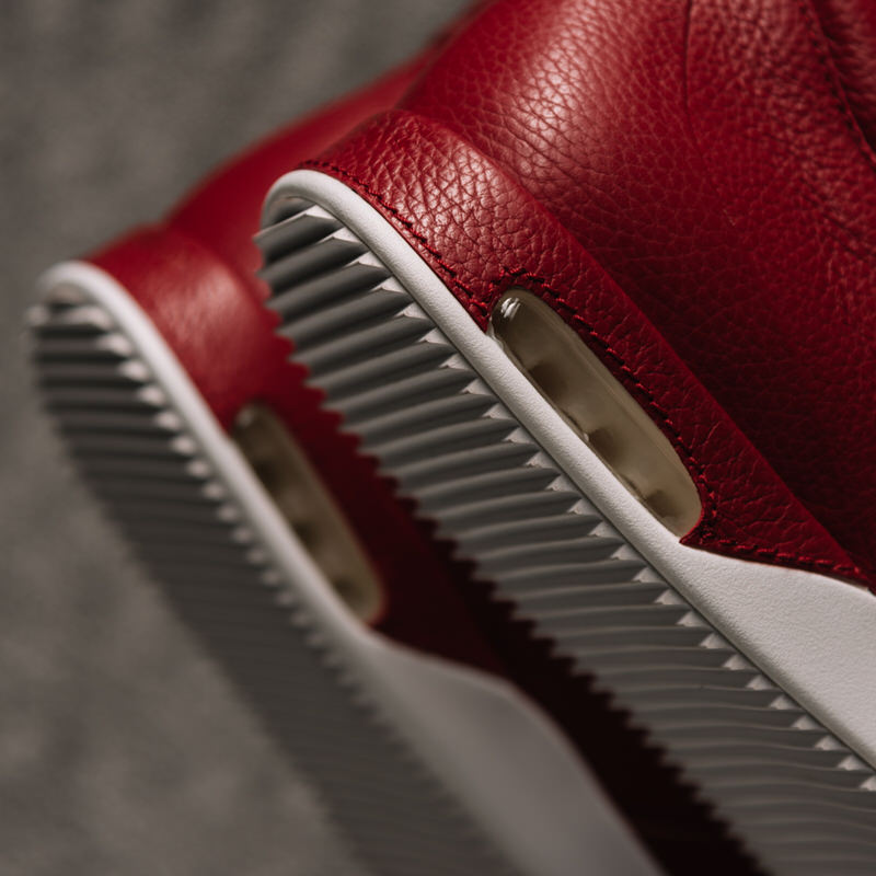 John Geiger 001 Chili Pepper Italian Pebbled Leather