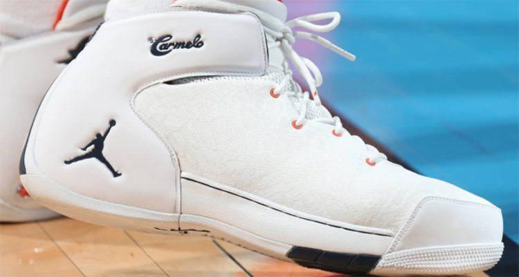 Carmelo Anthony Debuts New Jordan Melo