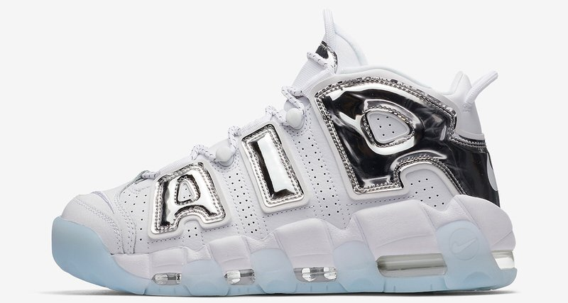 Nike Air More Uptempo Quot Chrome Quot Release Date Nice Kicks