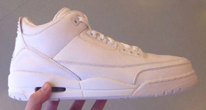 "Air Jordan 3 ""Triple White"""