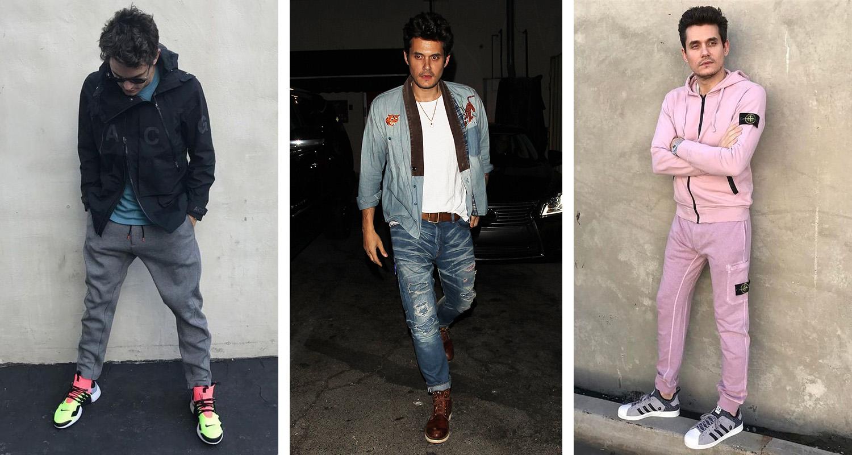 What S In Their Wardrobe John Mayer Nice Kicks