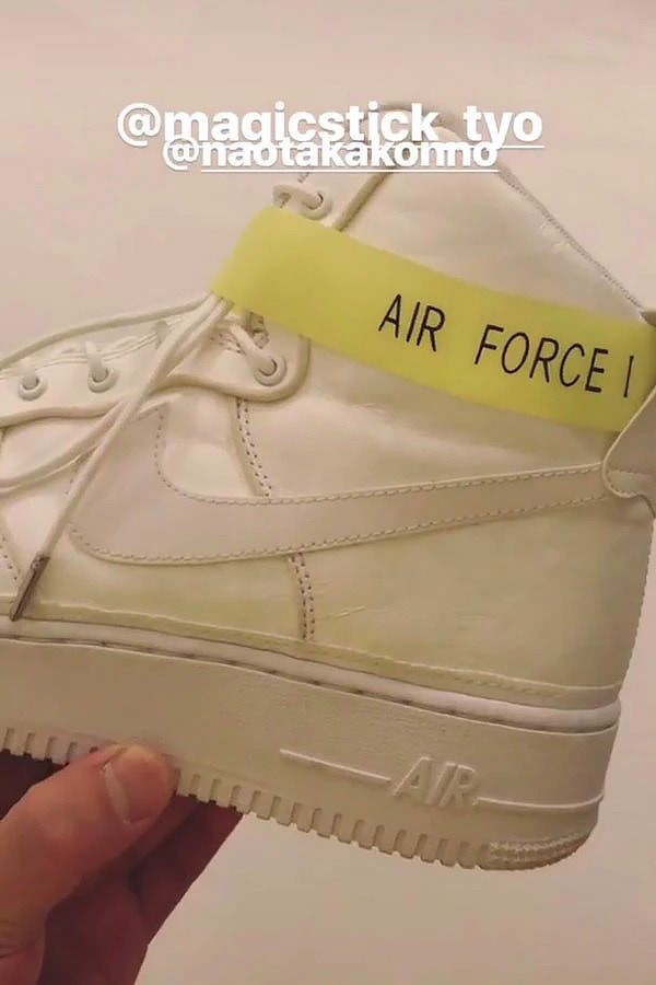 MAGIC STICK x Nike Air Force 1