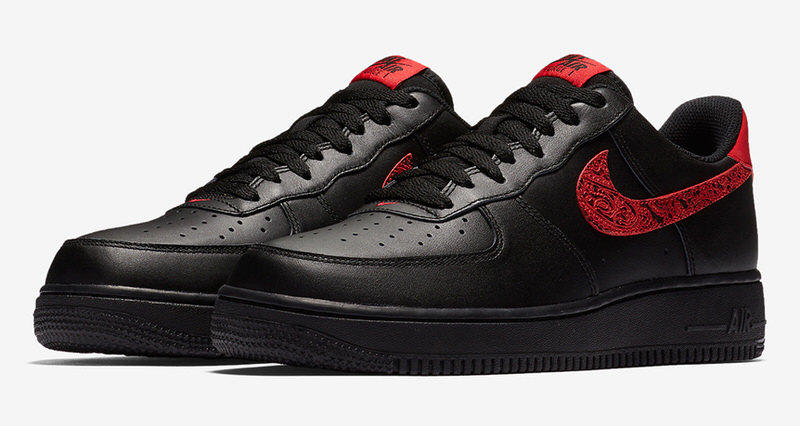 "Nike Air Force 1 Low ""Red Paisley"""