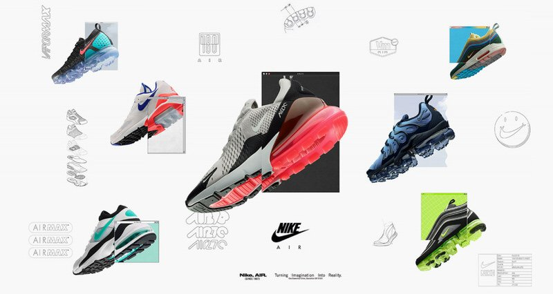 Iconic Nike Shoes Wallpaper