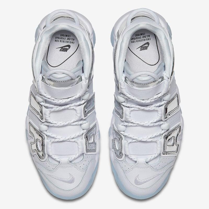 """Nike WMNS Air More Uptempo """"Chrome"""""""