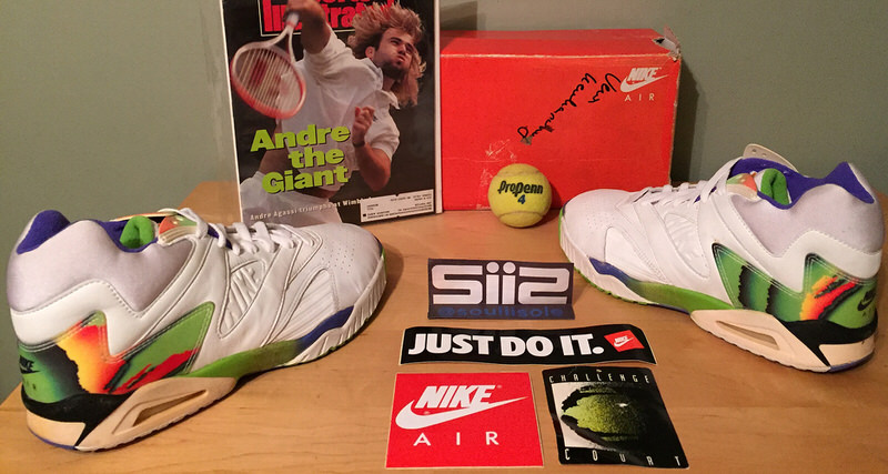 5f20fa50a9a888 Nike Air Tech Challenge Low