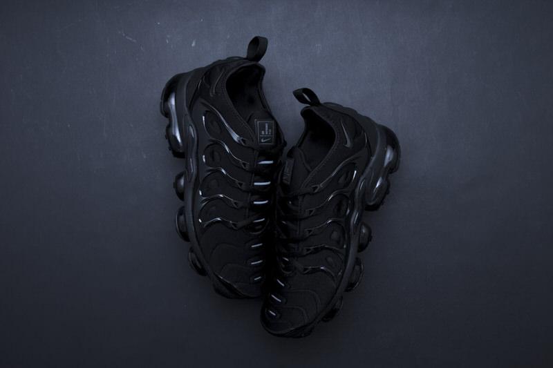 "Nike Air VaporMax Plus ""Triple Black"" Another Look Nice Kicks"