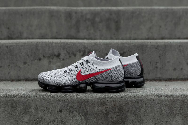 "... Nike Air VaporMax Flyknit ""Pure Platinum Black Anthracite"" 97da654bf"