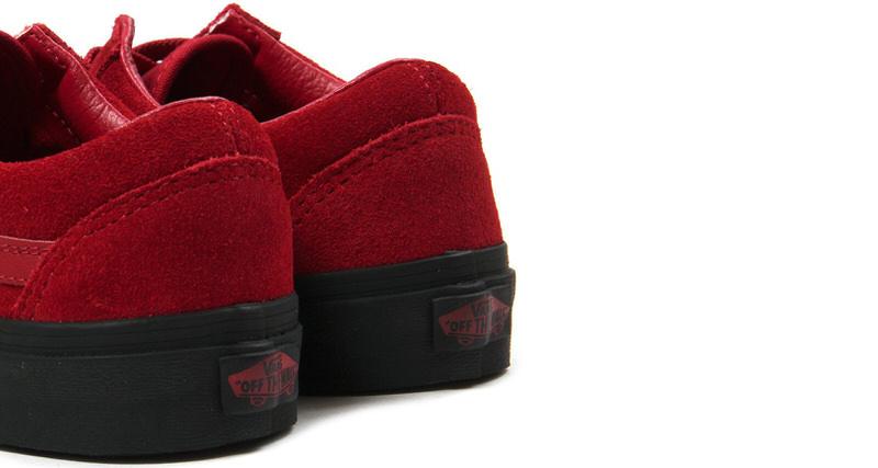 vans ua old skool red suede available now nice kicks. Black Bedroom Furniture Sets. Home Design Ideas