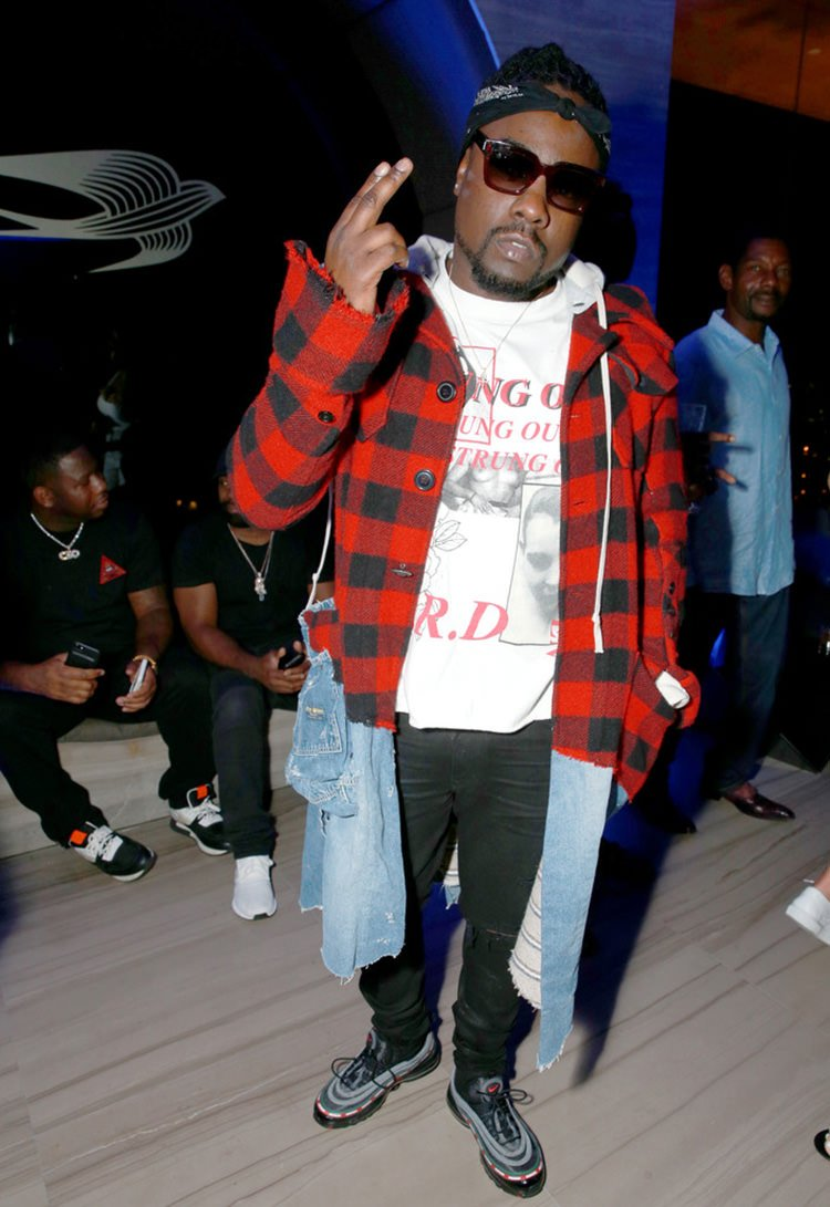 Wale in the UNDFTD x Nike Air Max 97