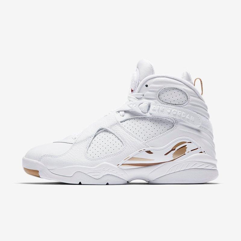 """OVO x Air Jordan 8 """"White"""""""