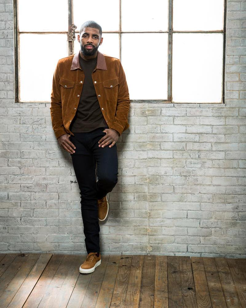 Kyrie just nailed minimalism at it's finest. And those Common Projects Tournament 4-Hole sneakers are a great alternative if you feel like your style is currently up against a wall.