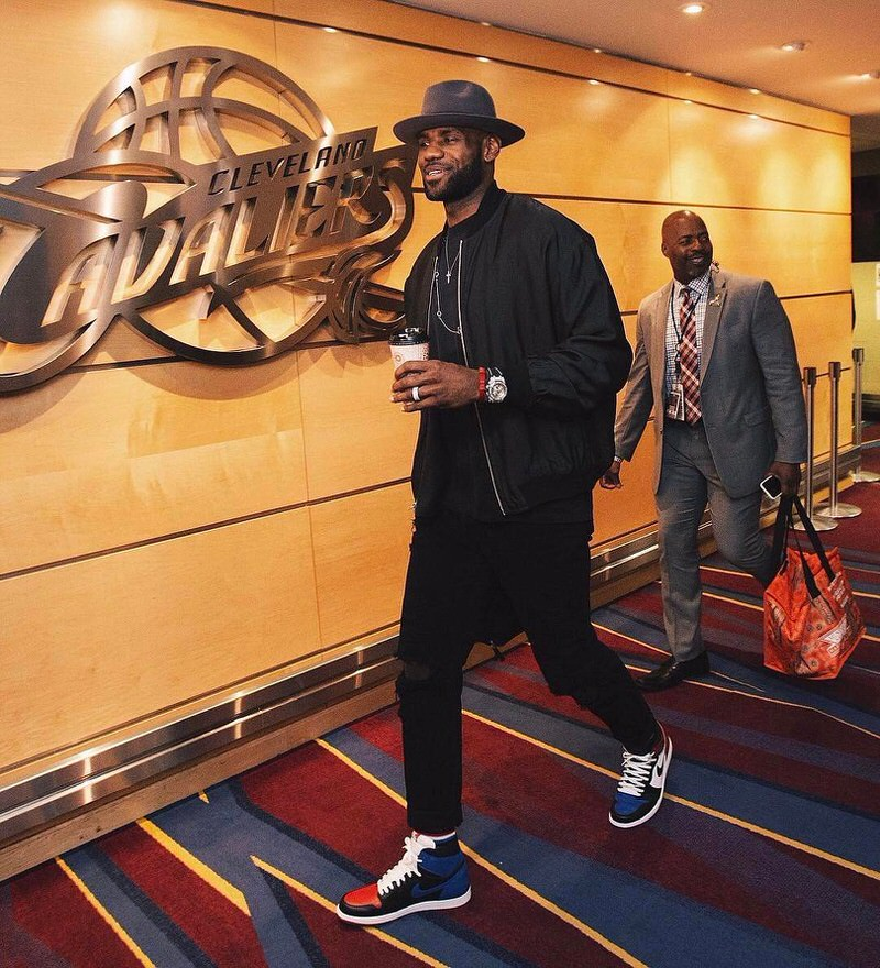 We'd say John Elliott is probably one of LeBron James' top three favorite brands.