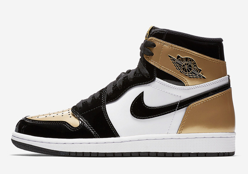 """Air Jordan 1 """"Gold Toe"""""""