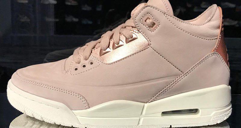 """Air Jordan 3 """"Rose Gold"""""""