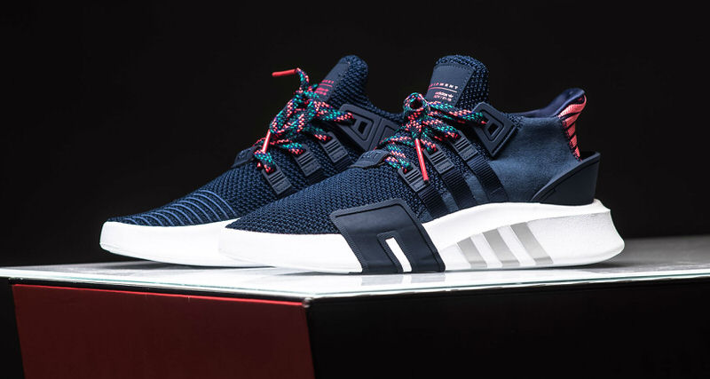 adidas EQT Basketball ADV Navy/Real Coral // Available Now | Nice ...