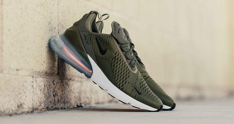 549818e7b9ddb Nike Air Max 270  quot Medium Olive quot     Release Date