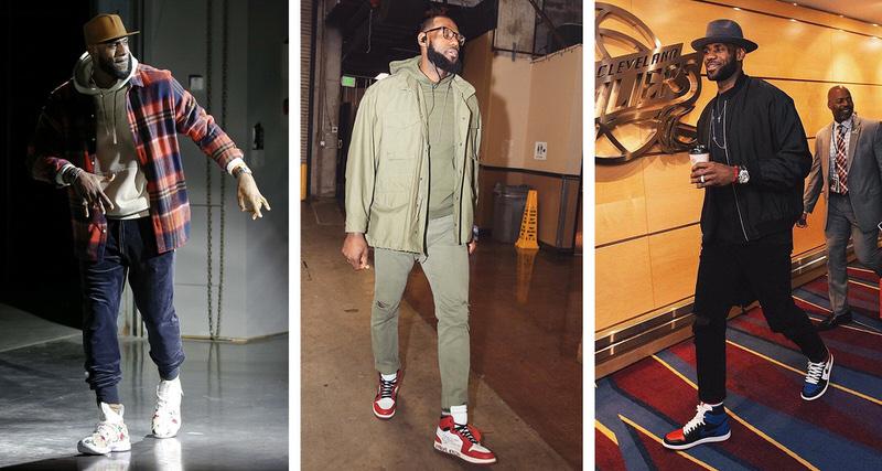 Whatu0026#39;s In Their Wardrobe? // LeBron James | Nice Kicks