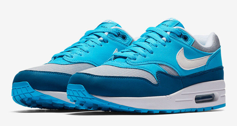 low priced d04b3 2552e Shop New Styles On. nike air max 1 blue white green gray color chart