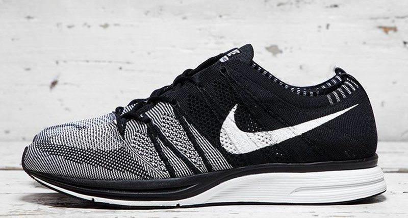 Nike Flyknit Trainer Black/White