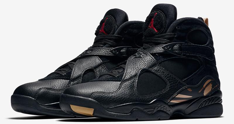 "OVO x Air Jordan 8 ""Black"""