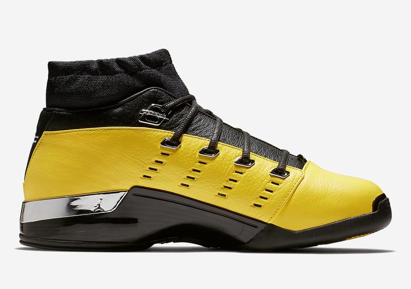 "SoleFly x Air Jordan 17 Low ""Lightning"""